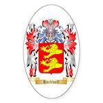 Hackwell Sticker (Oval 10 pk)