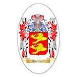 Hackwell Sticker (Oval 50 pk)