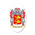 Hackwell 20x12 Oval Wall Decal