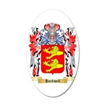 Hackwell 35x21 Oval Wall Decal
