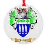 Hackett Round Ornament