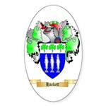 Hackett Sticker (Oval)