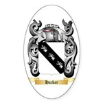 Hacker Sticker (Oval 10 pk)