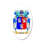 Hablot 20x12 Oval Wall Decal