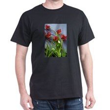 Red Tulips Bouquet T-Shirt