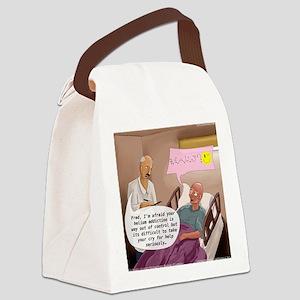 Helium Addiction Canvas Lunch Bag