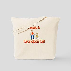 Alexia is Grandpa's Girl Tote Bag