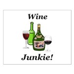 Wine Junkie Small Poster