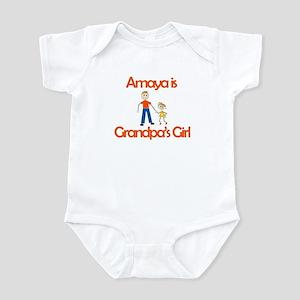 Amaya is Grandpa's Girl Infant Bodysuit