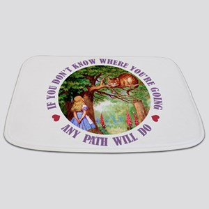 ALICE CAT ANY PATH WILL DO_PURPLE Bathmat