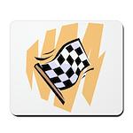 Checker Flag Mousepad
