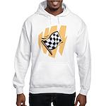Checker Flag Hooded Sweatshirt
