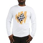 Checker Flag Long Sleeve T-Shirt