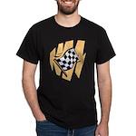 Checker Flag Dark T-Shirt