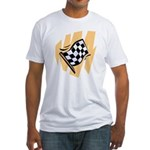 Checker Flag Fitted T-Shirt