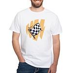 Checker Flag White T-Shirt