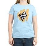 Checker Flag Women's Light T-Shirt