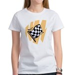 Checker Flag Women's T-Shirt
