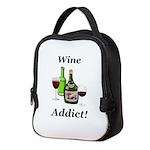 Wine Addict Neoprene Lunch Bag