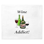 Wine Addict King Duvet