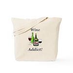 Wine Addict Tote Bag