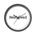 Newlywed Wall Clock