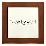 Newlywed Framed Tile