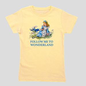 ALICE_BLUE_FOLLOW ME_BLUEx copy Girl's Tee