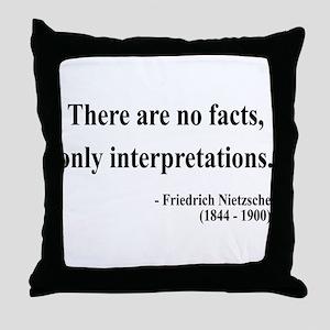 Nietzsche 7 Throw Pillow