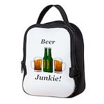 Beer Junkie Neoprene Lunch Bag