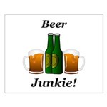 Beer Junkie Small Poster