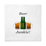 Beer Junkie Queen Duvet