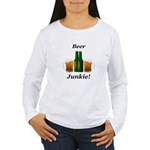 Beer Junkie Women's Long Sleeve T-Shirt