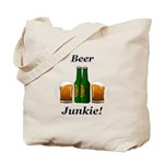 Beer Junkie Tote Bag