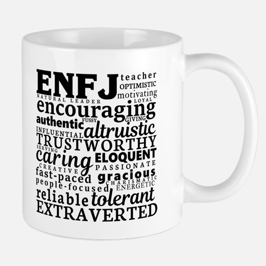 ENFJ Teacher Myers-Briggs Personality Mugs