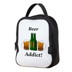 Beer Addict Neoprene Lunch Bag