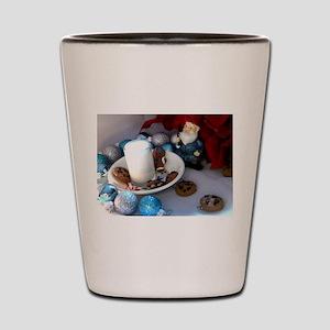Cookies and Milk Gnome II Shot Glass