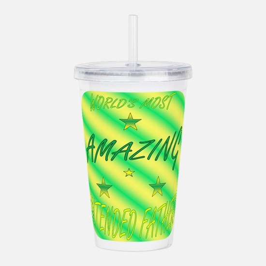Worlds Most - IF.png Acrylic Double-wall Tumbler