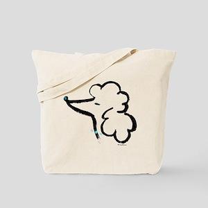 Poodle Portrait Tote Bag
