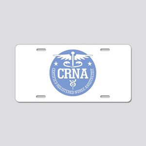 CRNA Aluminum License Plate