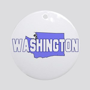 Visit Scenic Washington Ornament (Round)