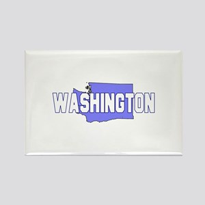 Visit Scenic Washington Rectangle Magnet