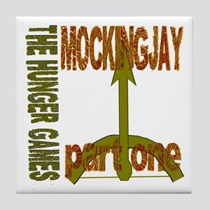 The Hunger Games Mockingjay Part One Tile Coaster