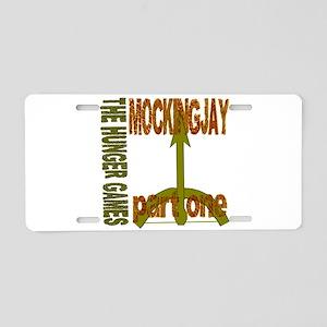 The Hunger Games Mockingjay Aluminum License Plate