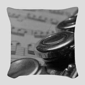 Flute Woven Throw Pillow