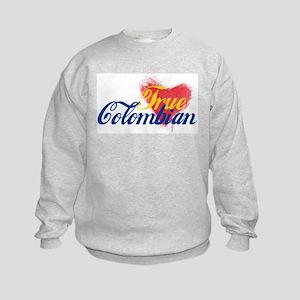 True Colombian ... Kids Sweatshirt