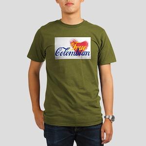 True Colombian ... Organic Men's T-Shirt (dark)