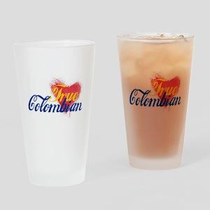 True Colombian ... Drinking Glass