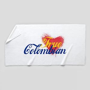 True Colombian ... Beach Towel