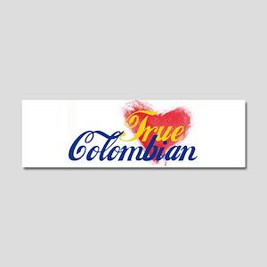 True Colombian ... Car Magnet 10 x 3